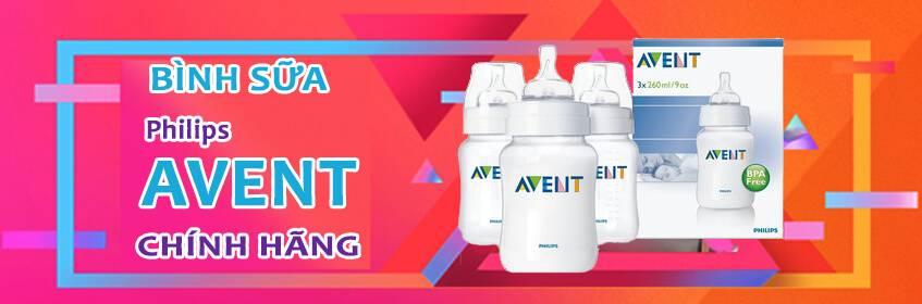 Bình sữa Philips Avent